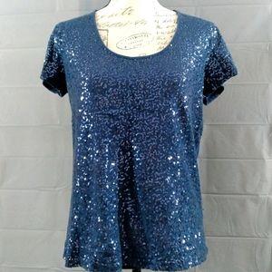 🔴3/$12 Kiara sequins top